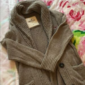 Hollister Open front sweater